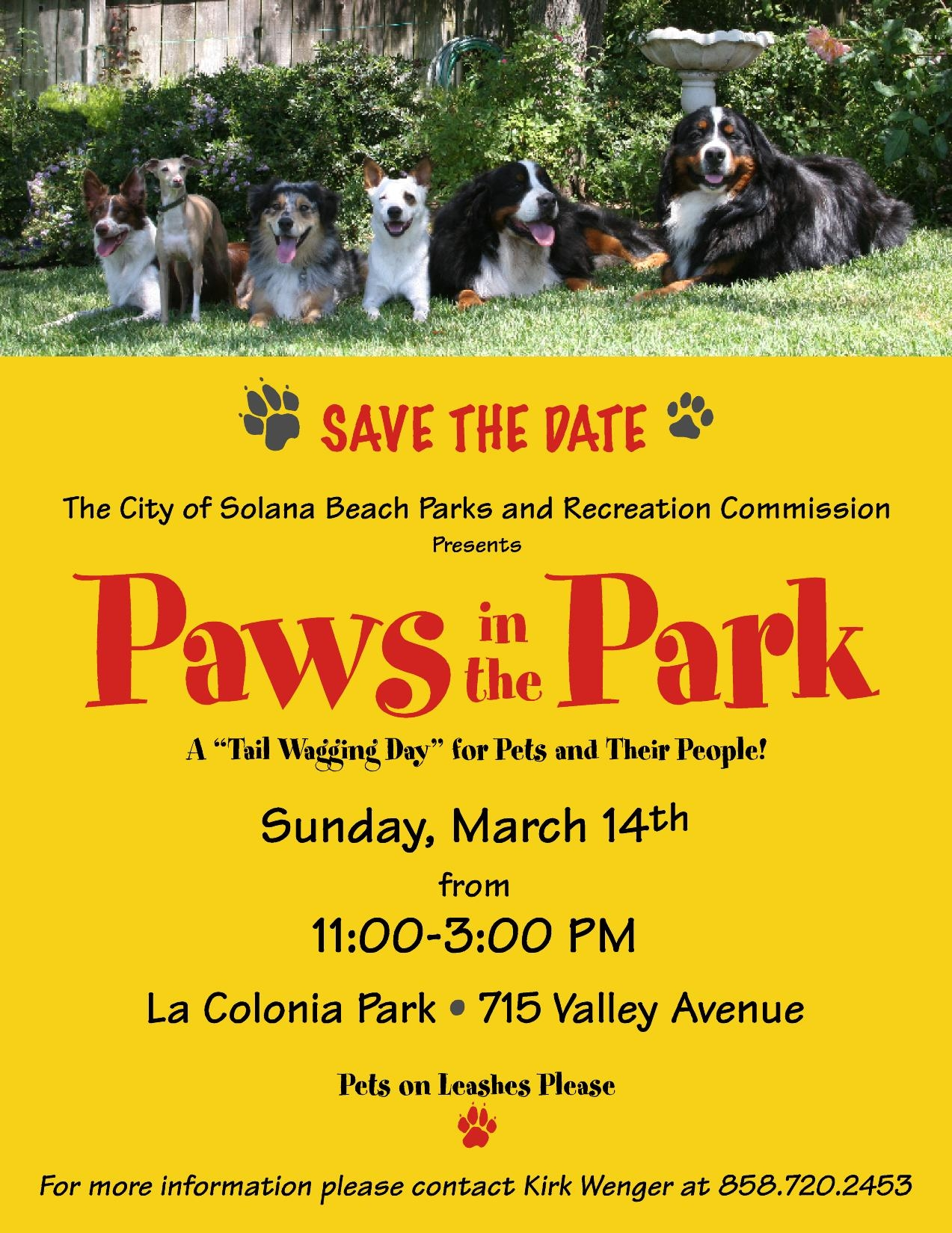Solana Beach Paws in the Park